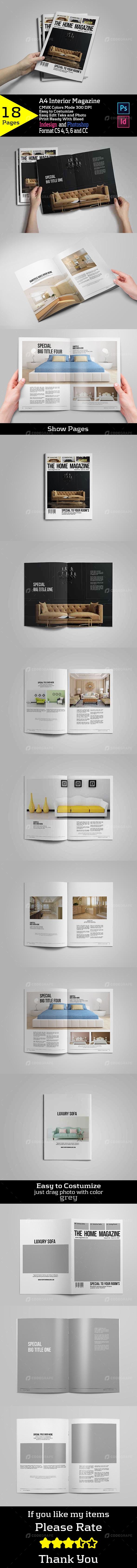A4 Interior Magazine