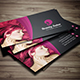 Men & Women Salon Business Card