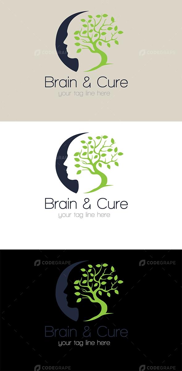 Brain & Cure Logo