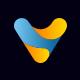 V Letter Logo Design