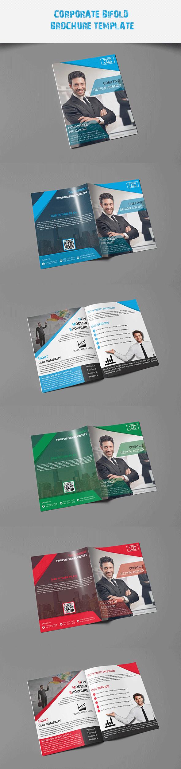 Corporate Bi-Fold Broshure