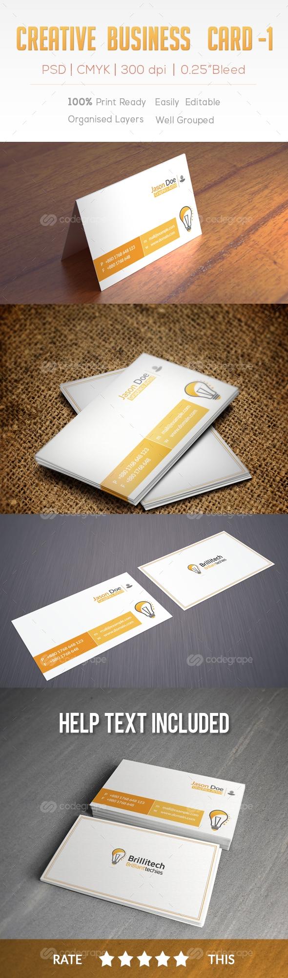 Creative Business card-1