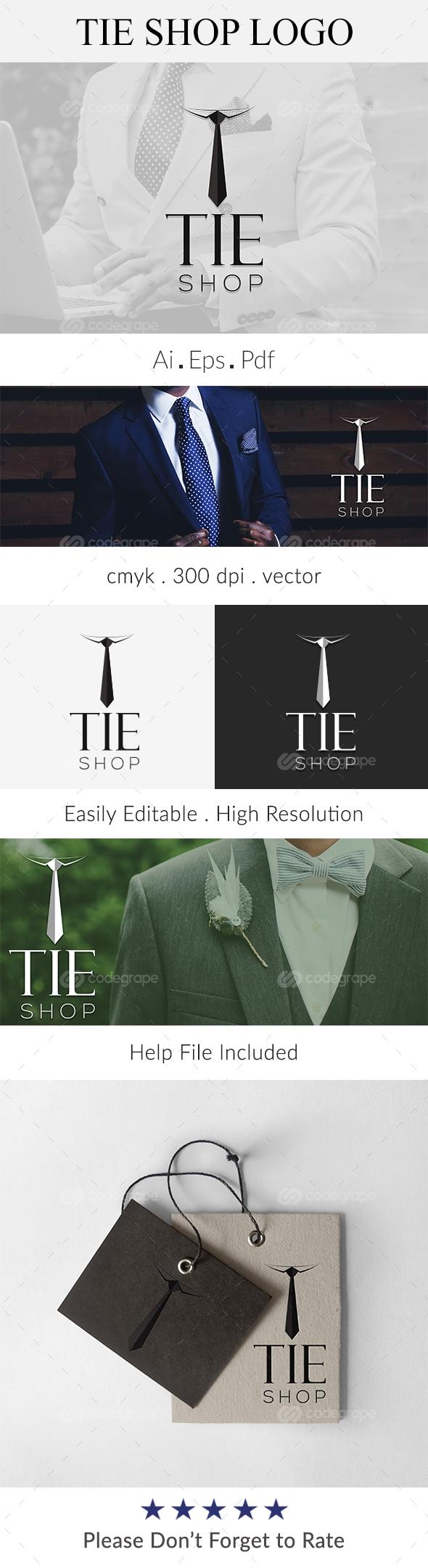 TIE Shop Logo