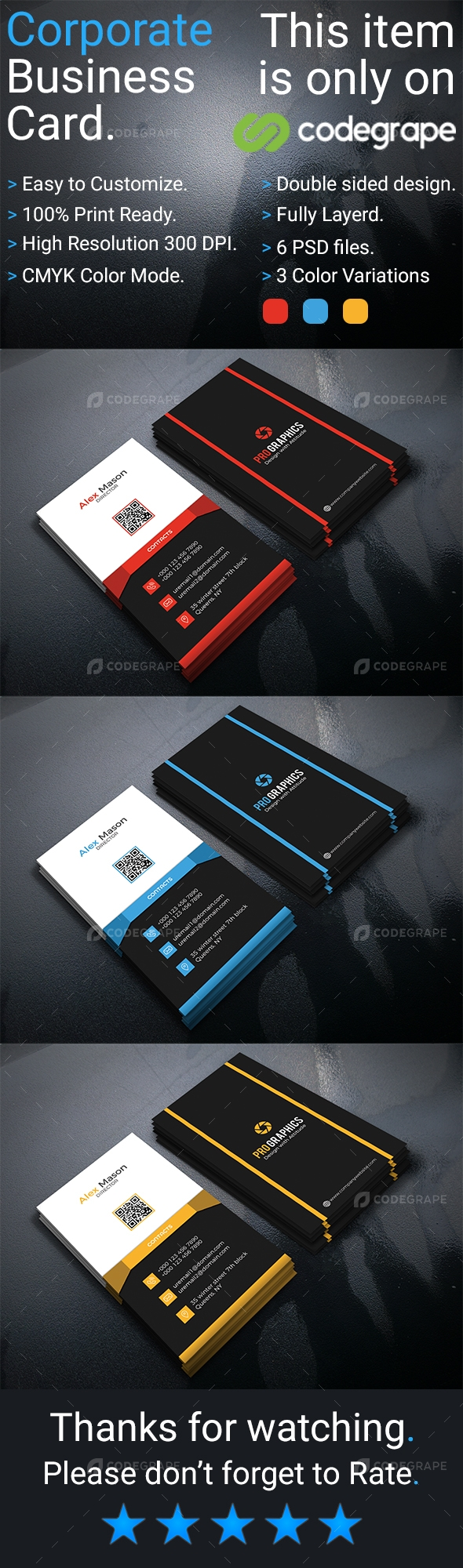 Corporate Business Card Vol- 5