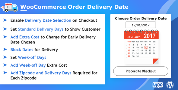 WooCommerce Order Delivery Date