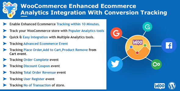 WooCommerce Enhanced Ecommerce Analytics Integration with Conversion Tracking
