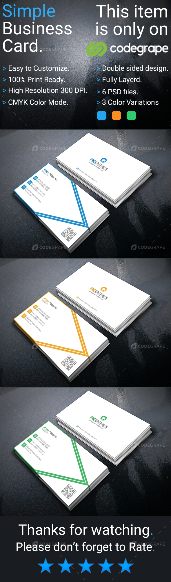 Simple Business Card Vol- 2