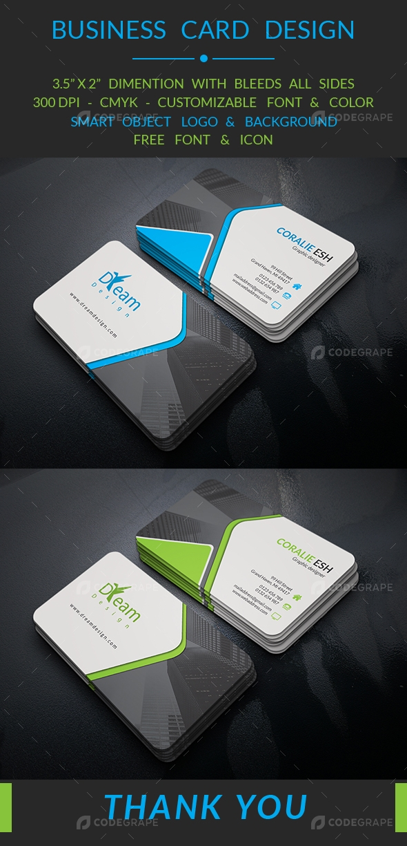 Creative business card 2017 v2 print codegrape creative business card 2017 v2 reheart Gallery