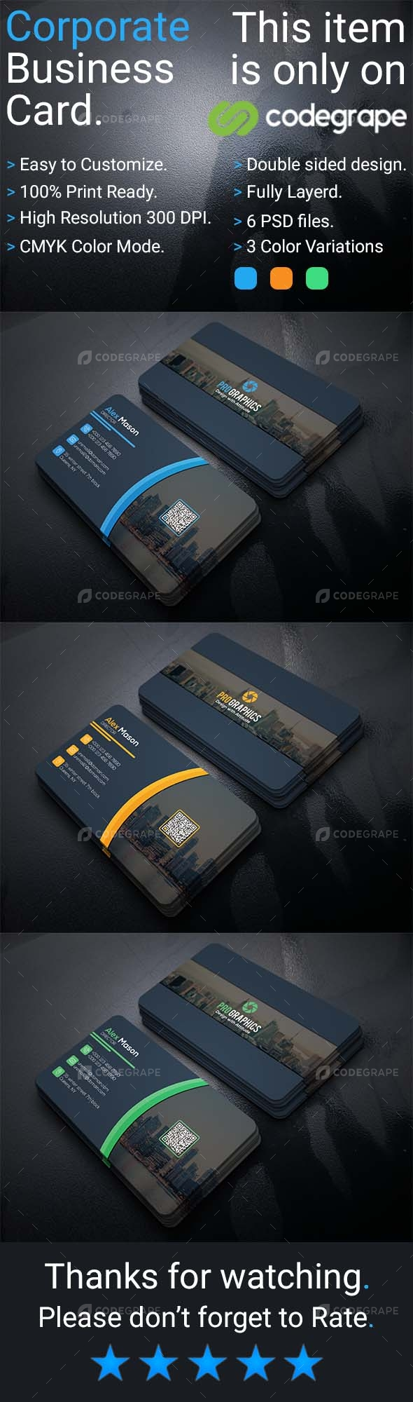 Corporate Business Card Vol 10