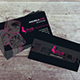 Fashion Beauty Business Card