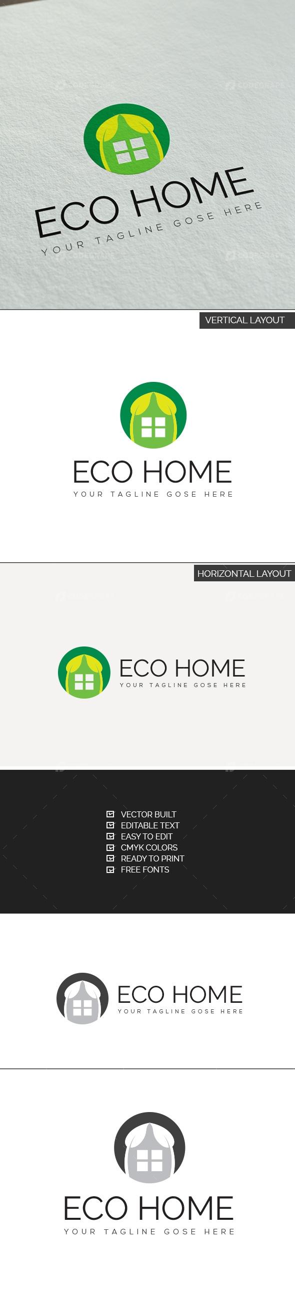 ECO Home Logo