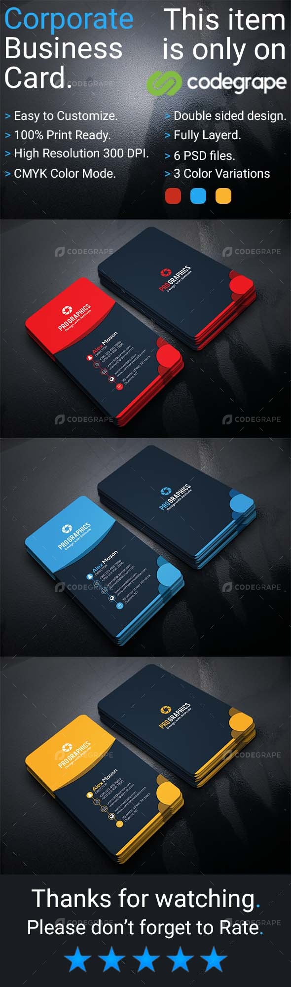 Corporate Business Card Vol 11