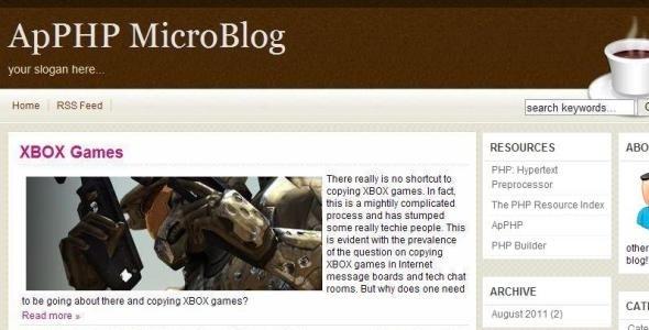 PHP Multi-Author Blog Script