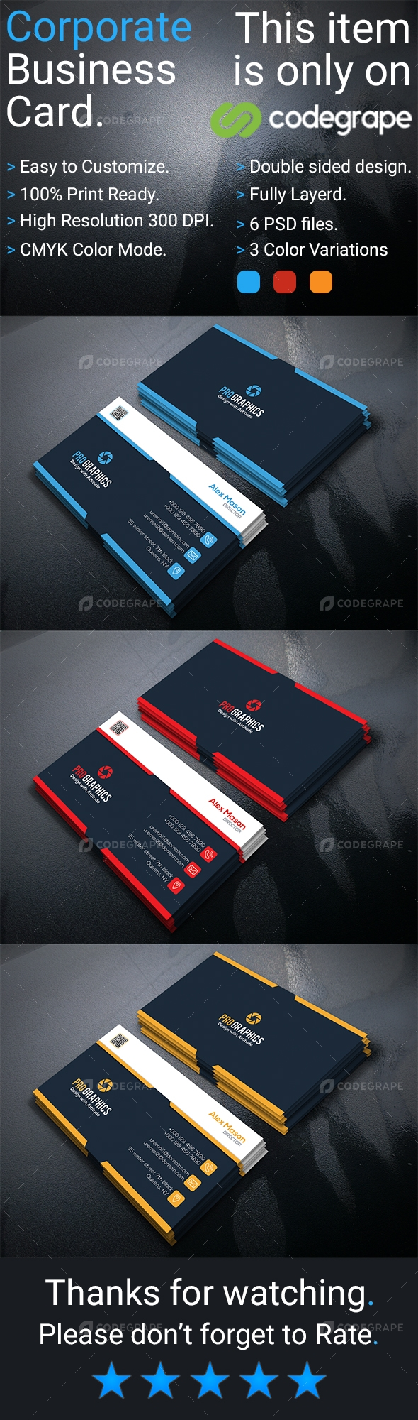 Corporate Business Card Vol 12