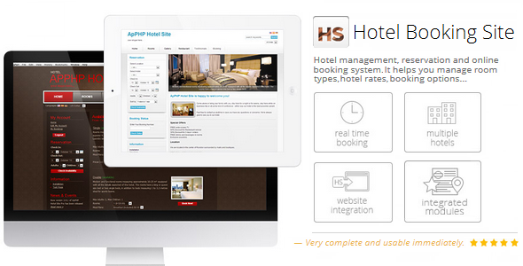 PHP Hotel Reservation System - Scripts | CodeGrape
