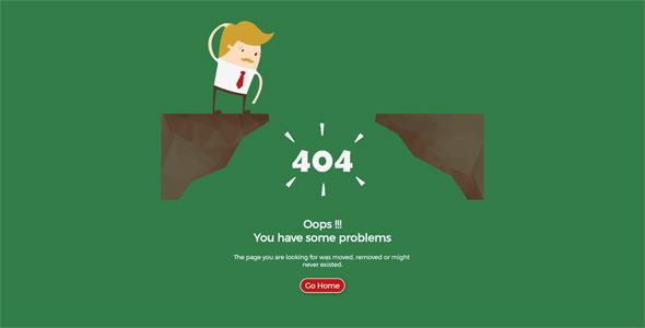 404 Lost Man