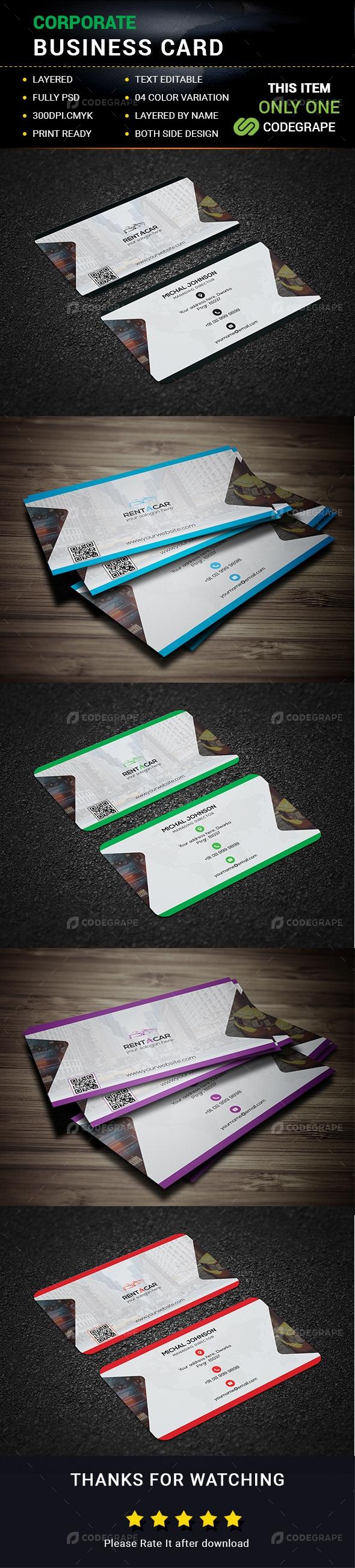 Corporate Business Card 02