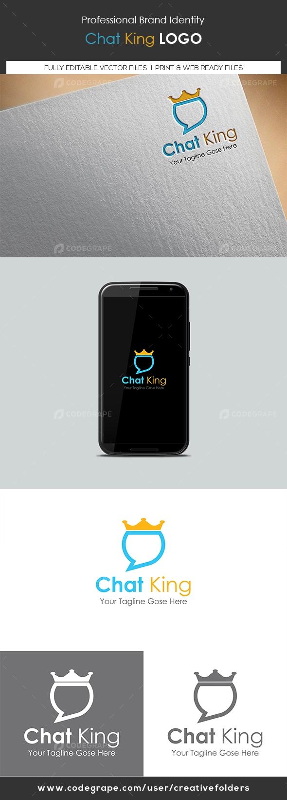Chat King Logo