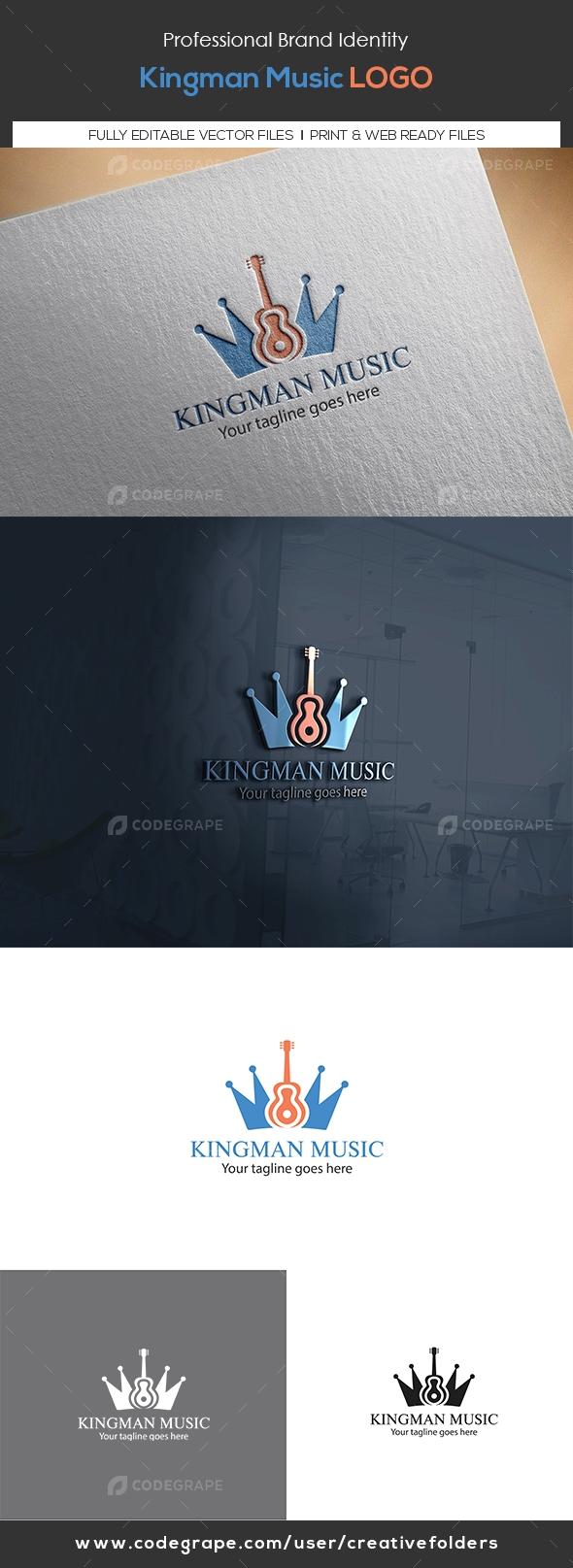Kingman Music Logo