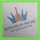 Kingman Music Logo