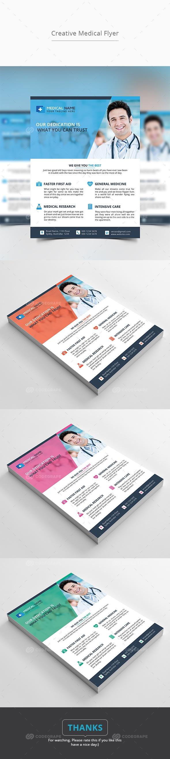 Creative Medical Flyer
