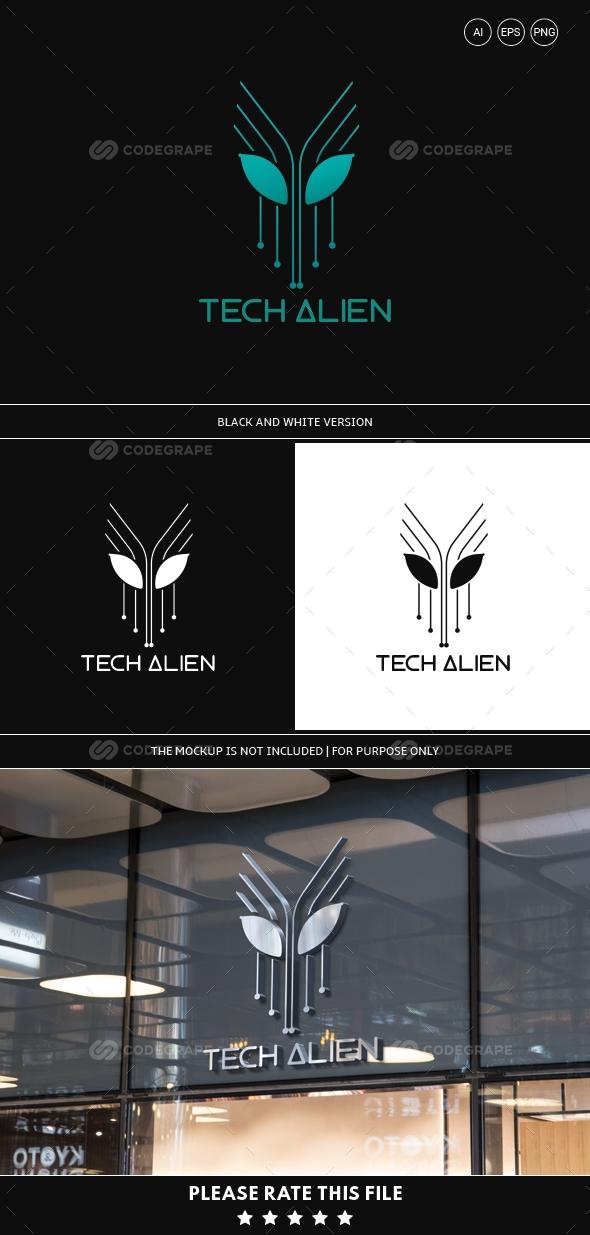 Tech Alien Logo
