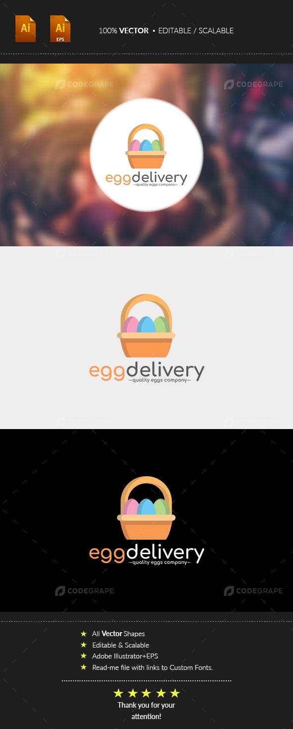 Egg Delivery Logo