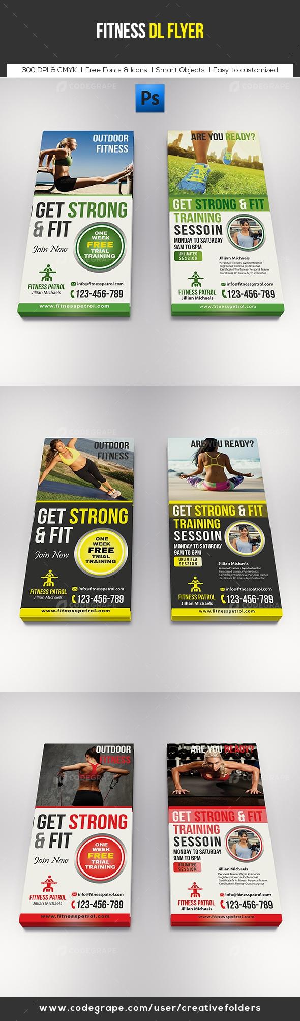 Fitness DL Flyer