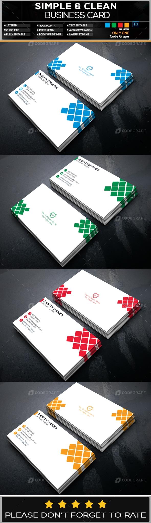 Creative Business Card Vol - 3