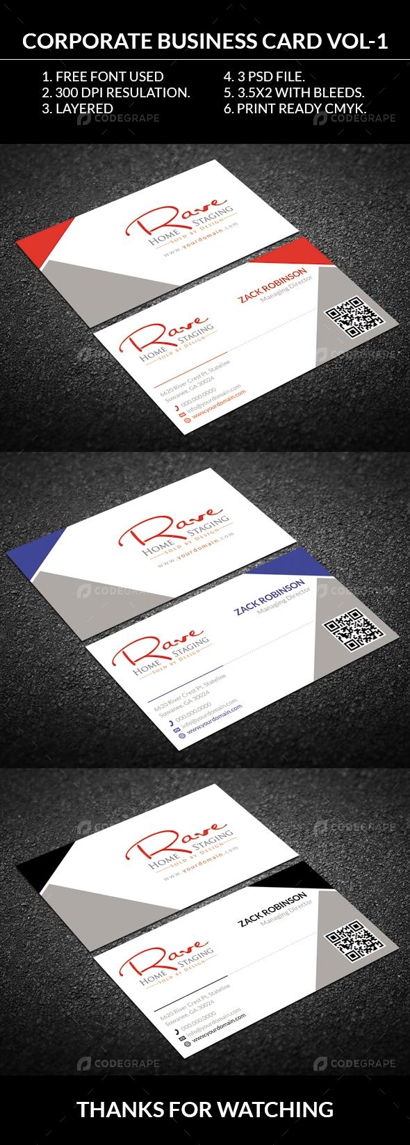 Corporate Business Card Vol-2