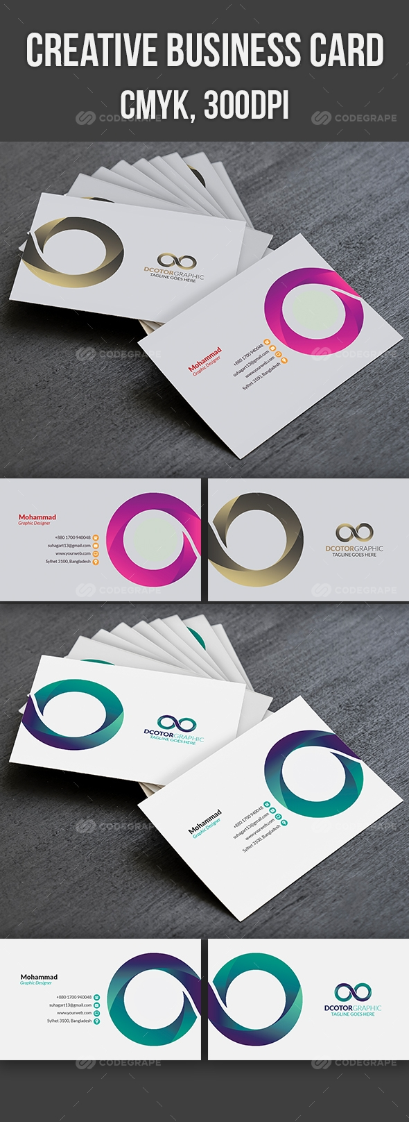 Creative Business Card Print