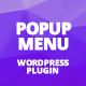 Popup Overlay Menu WordPress Plugin