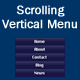 Scrolling Vertical Menu