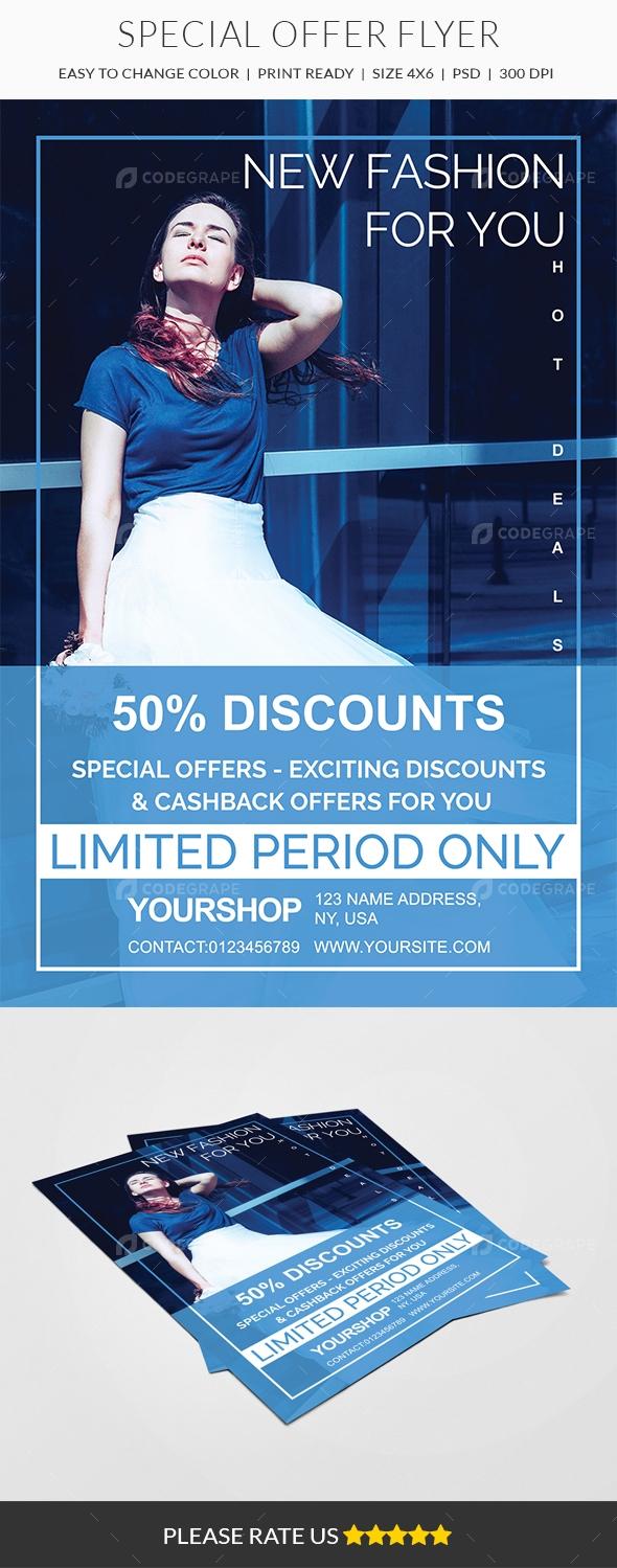 Special Offer Flyer