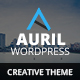 Auril Creative One Page WordPress Theme