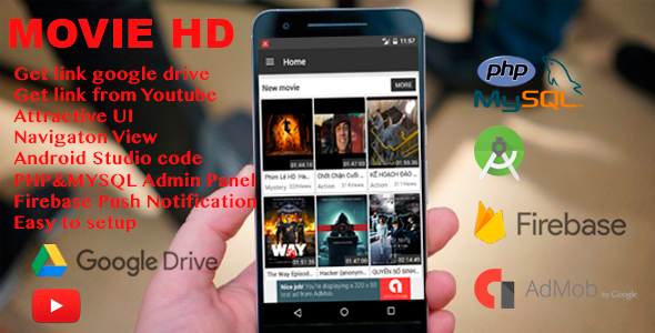 Movie HD with Google Drive
