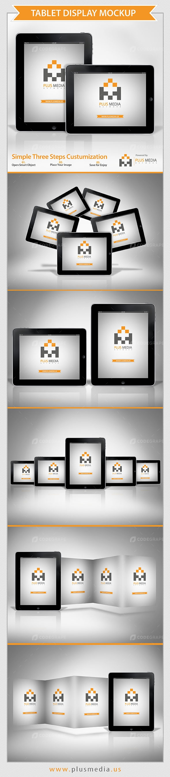 Tablet Display Mockup