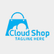 Cloud Shop Logo Design