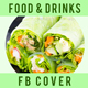 Food and Drinks Facebook Cover