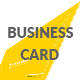 Yellow Color Business Card