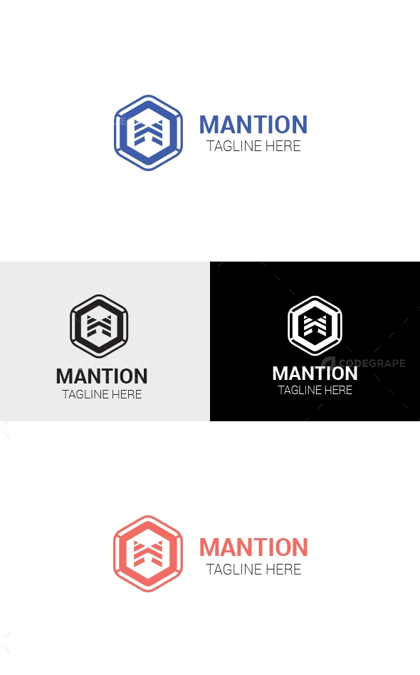 Mantion - Logo Template