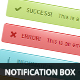 CSS Notification Box