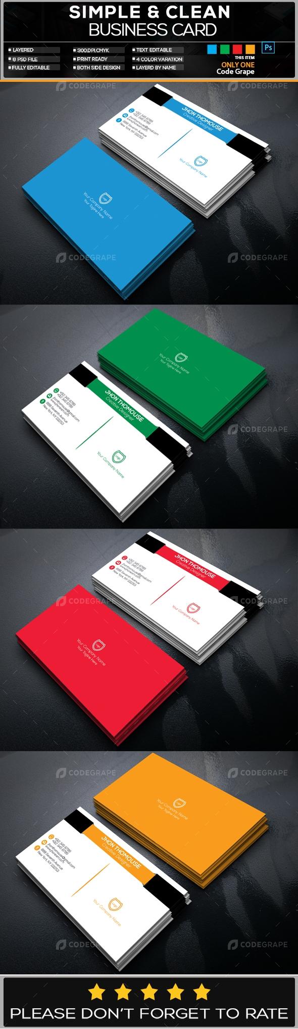 Business Card Vol - 3