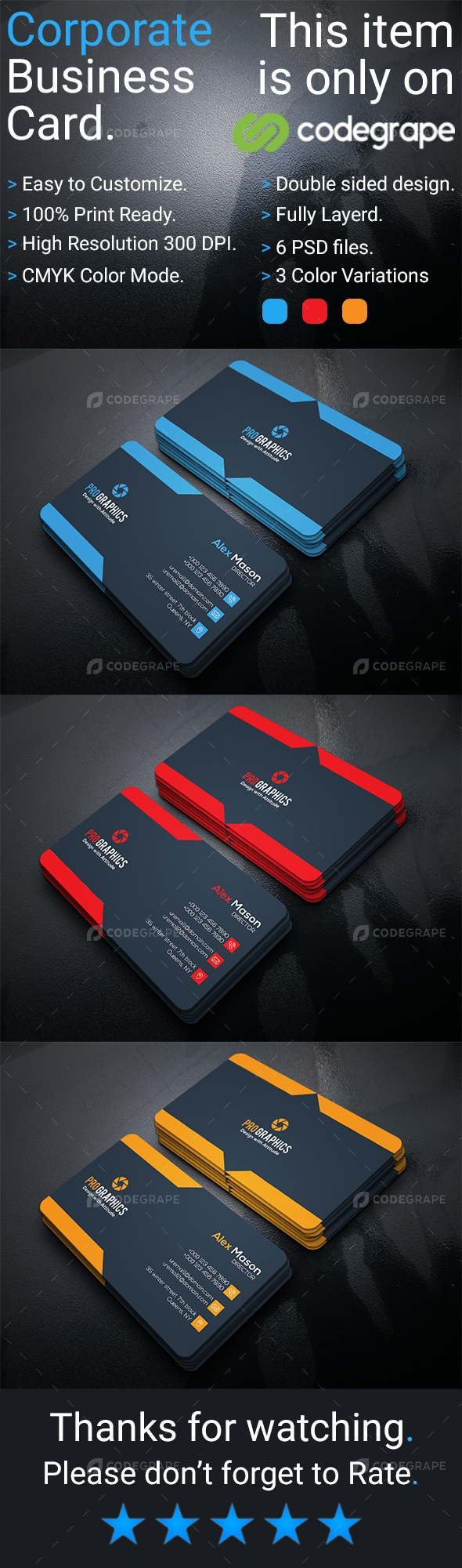 Corporate Business Card Vol 16