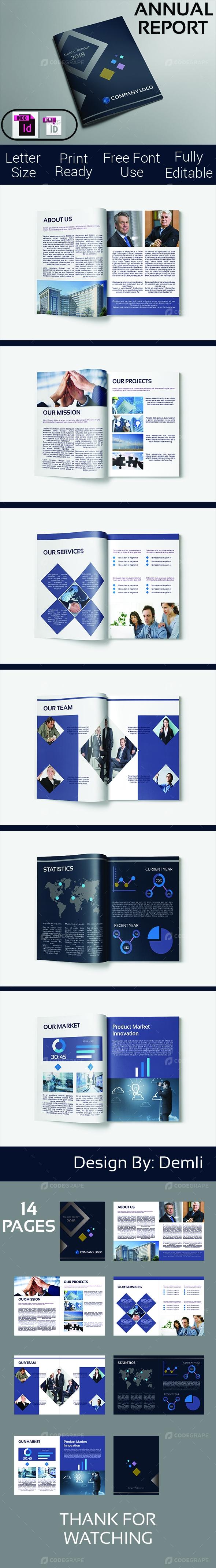 Annual Report Indesign