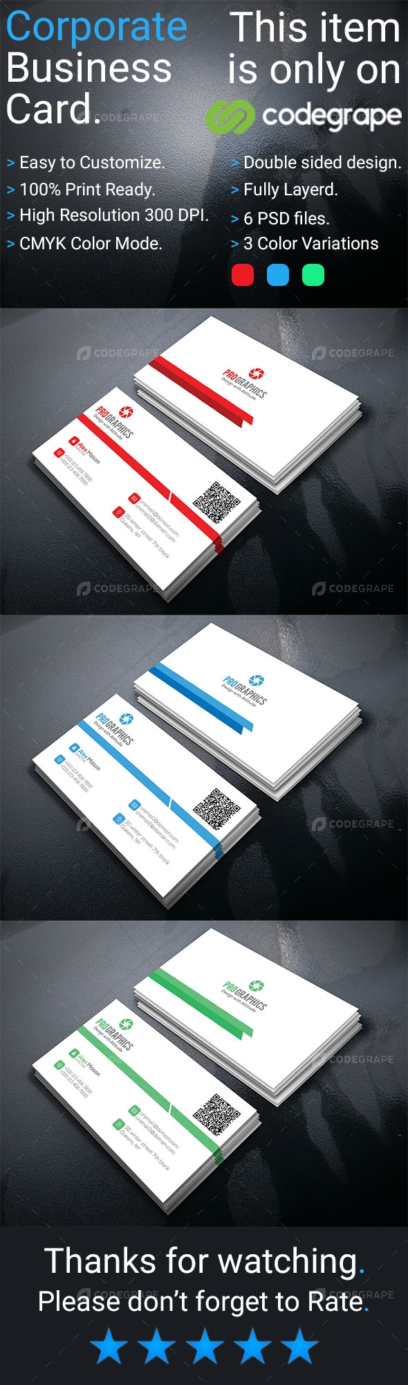 Corporate Business Card Vol 17