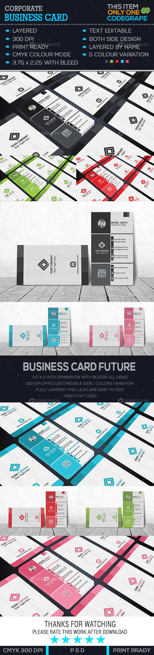 Business Card - Print | CodeGrape