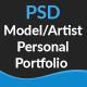 Personal Portfolio - 1 Page PSD Template