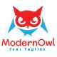 Modern Owl Logo Template