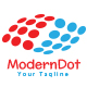 Modern Dot Logo Template